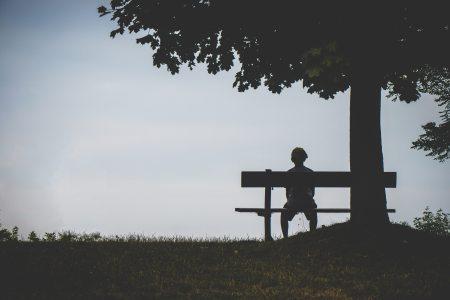 alone-backlit-bench-1280162