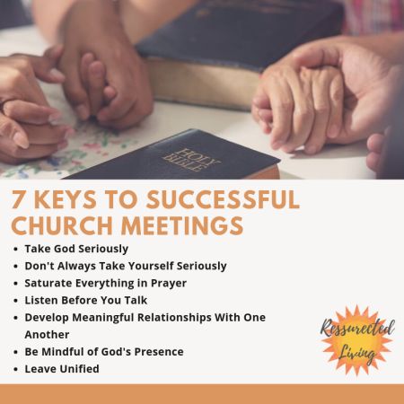 7 Keys to successful church meetings