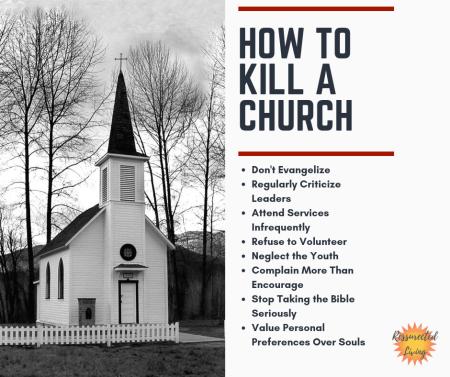 How To Kill a Church