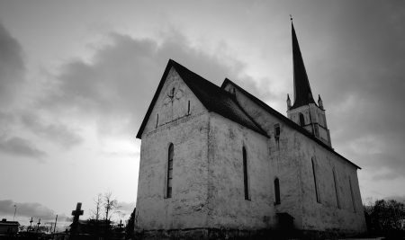 gray-scale-photo-of-church-753277